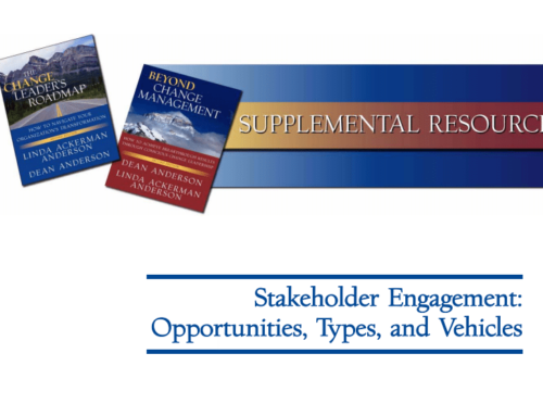 Stakeholder Engagement: Opportunities, Types, and Vehicles